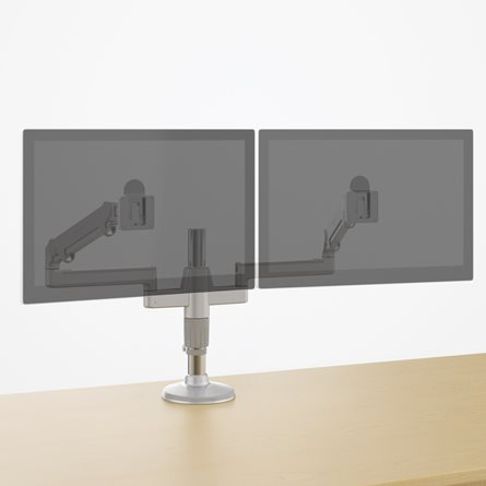 Dual Grommet Mount Monitor Arm